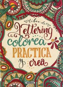 Libro de lettering. Colorea...