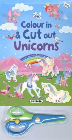 Colour in & cut out unicorns