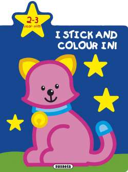 Colour and stick 2-3 years old