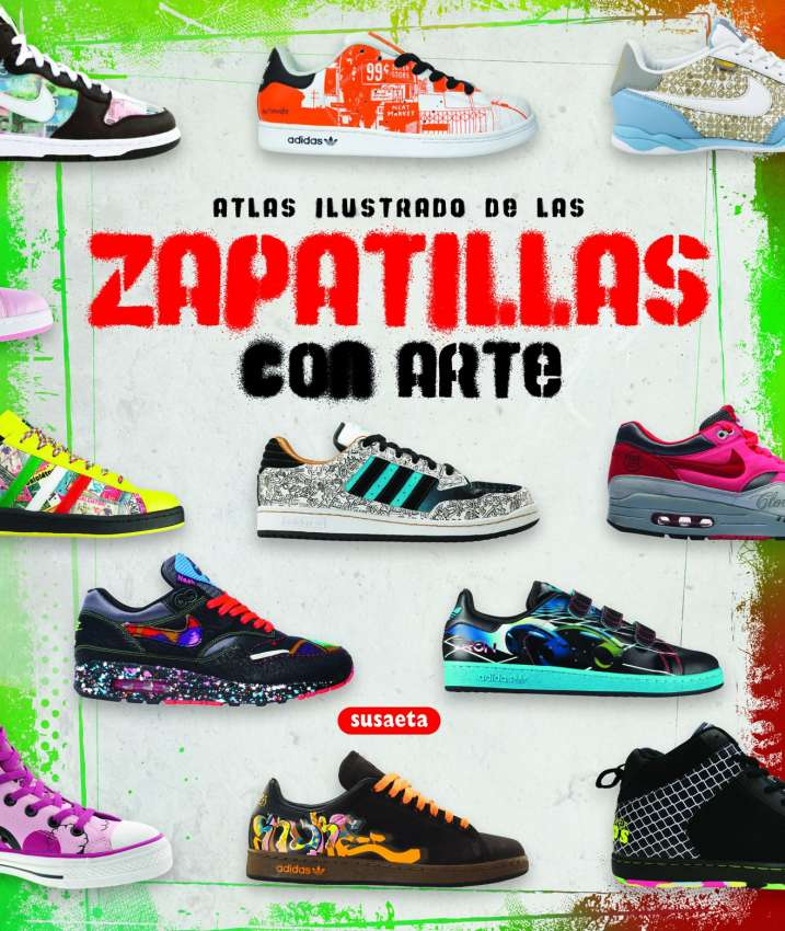 Zapatillas con arte