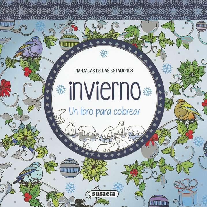 Invierno. Un libro para colorear | Editorial Susaeta - Venta de ...