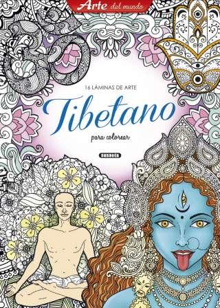 Láminas de arte tibetano...