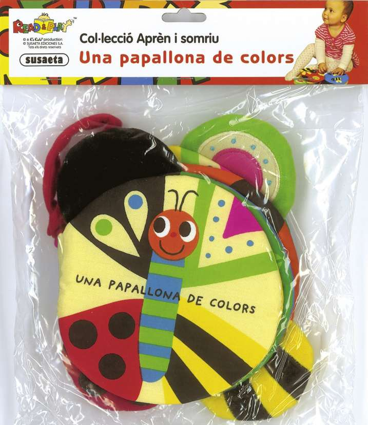 Una papallona de colors