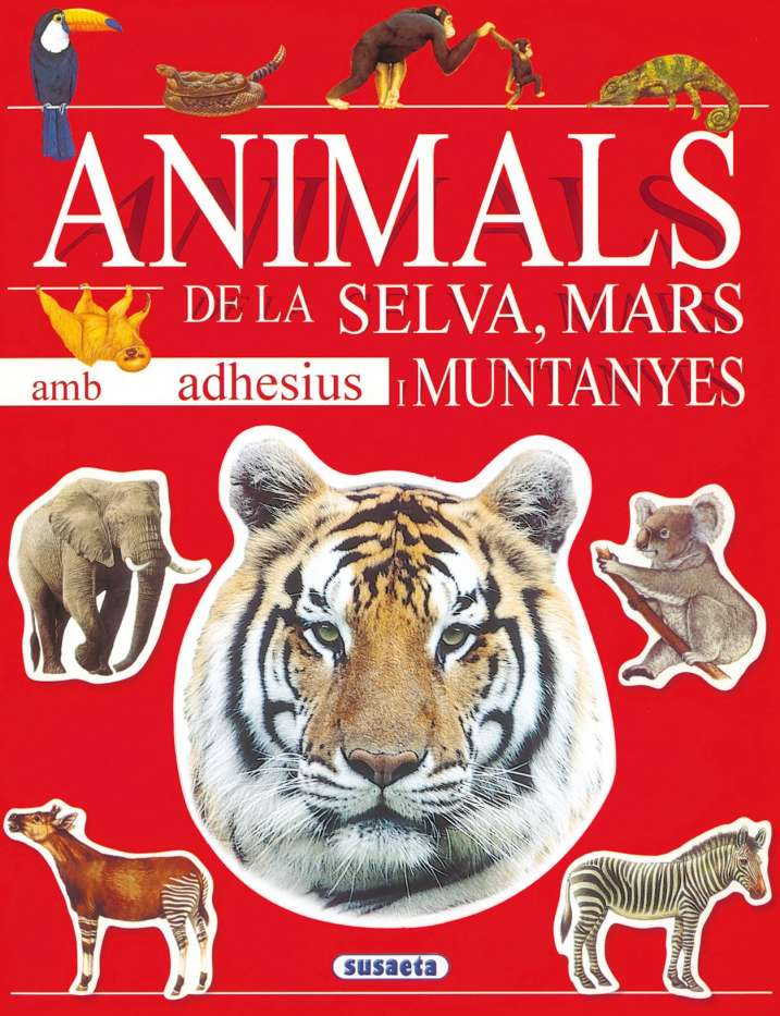 Animals de la selva, mars i...