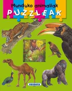 Munduko animaliak puzzleak