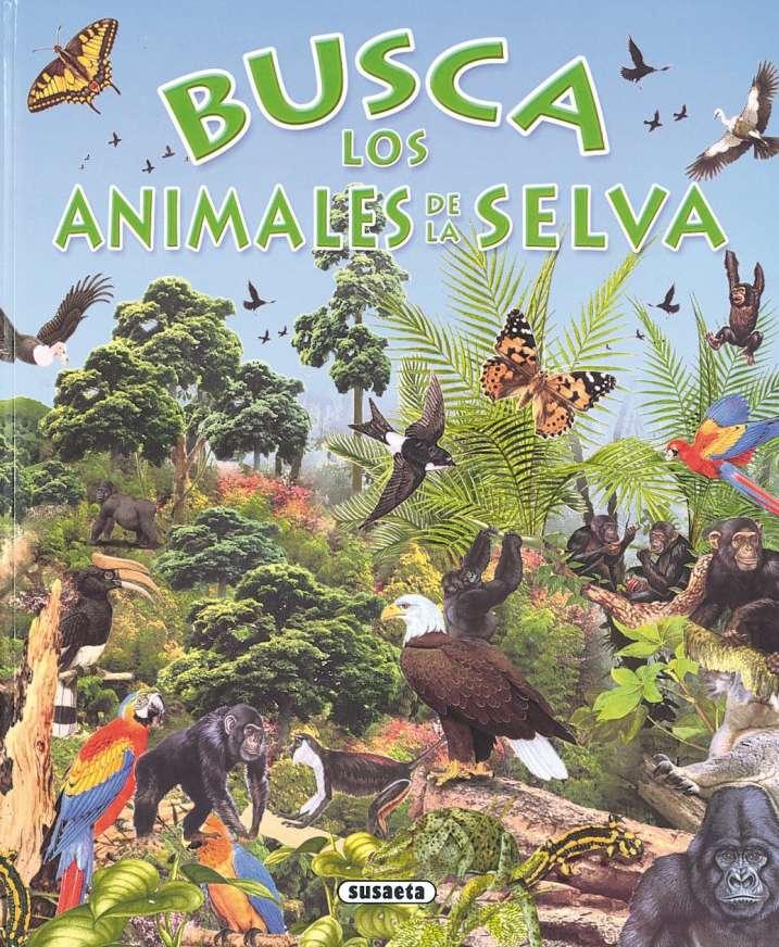 Busca los animales de la selva