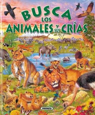 Busca los animales y sus crías
