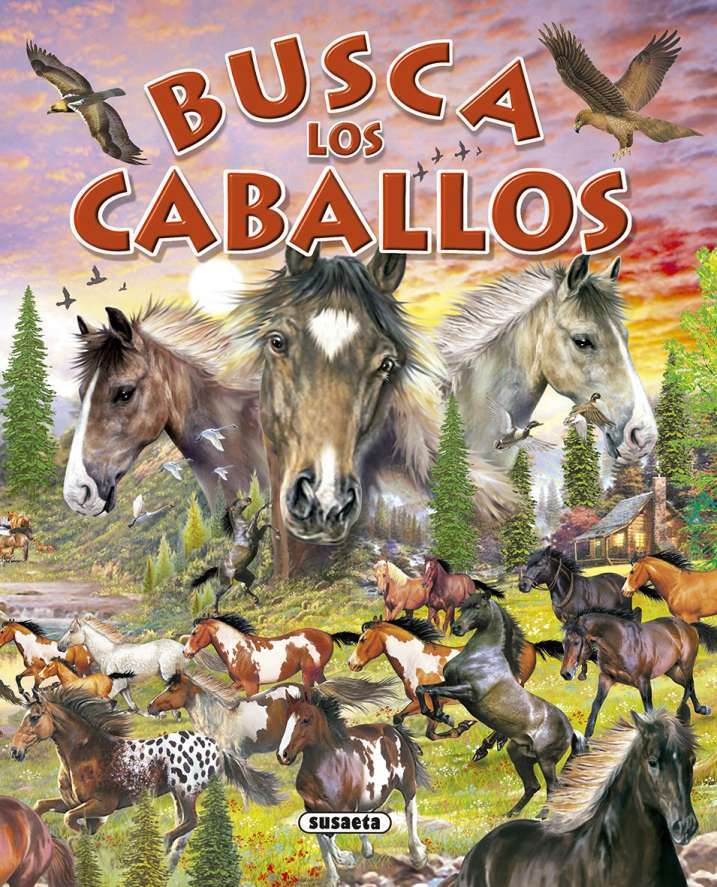 Busca los caballos y ponis