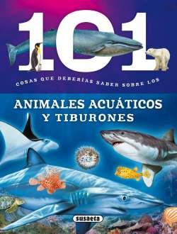 Animales acuáticos y tiburones