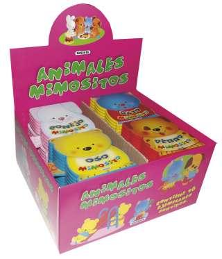 Animales mimositos (4 títulos)