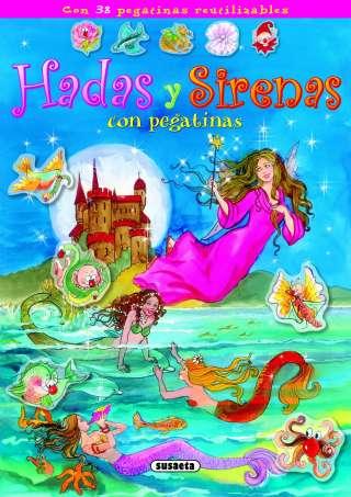 Hadas y sirenas con pegatinas