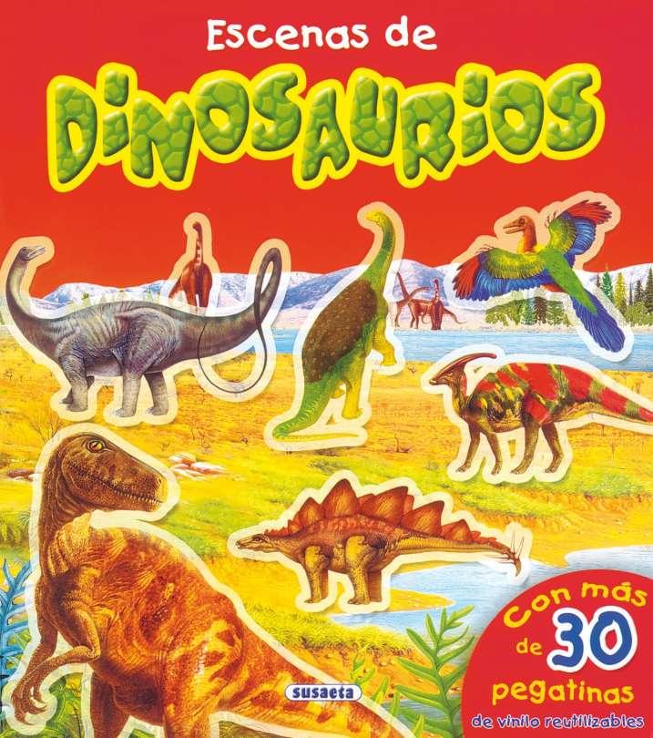 Escenas de dinosaurios