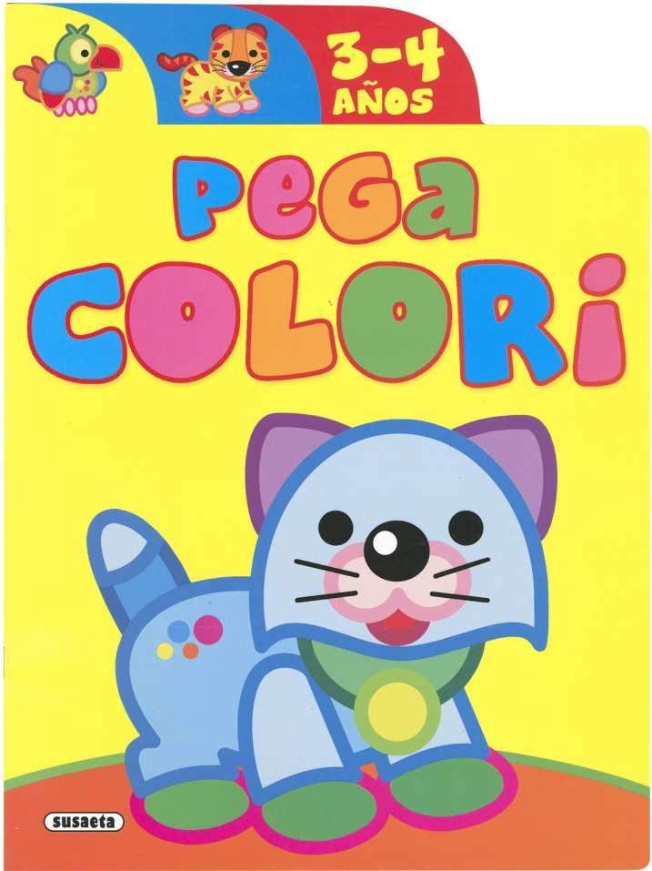 Pega colori 3-4 años