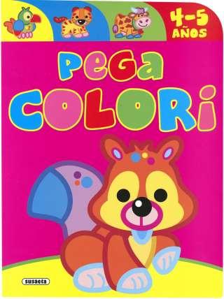 Pega colori 4-5 años