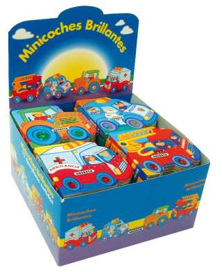 Minicoches brillantes (4...