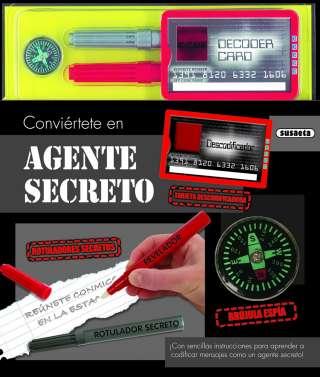 Conviértete en agente secreto