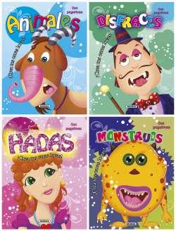 Caras locas (4 títulos)