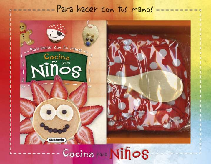 Cocina para ni os editorial susaeta venta de libros for Libro cocina para ninos