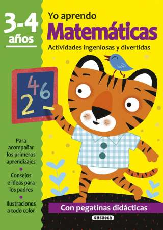 Matemáticas 3-4 años....
