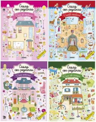 Casas con pegatinas (4...