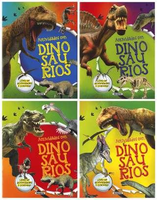 Actividades con dinosaurios...