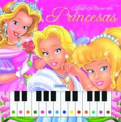 Libro piano de princesas
