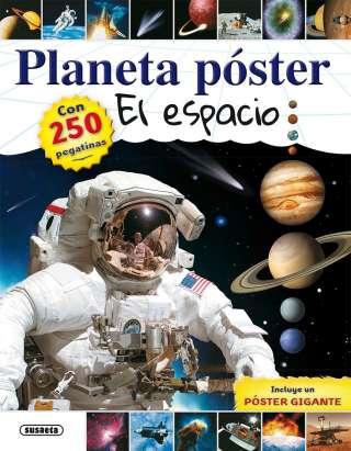 Planeta póster el espacio