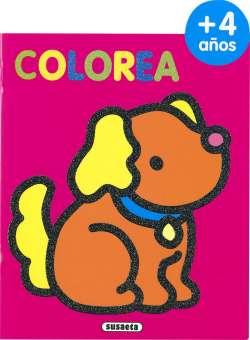 Colorea por edades 4 años