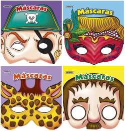 Máscaras de papel (4 títulos)