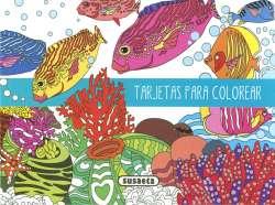 Tarjetas para colorear