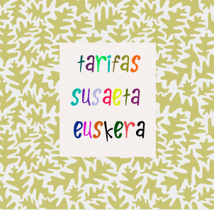 Tarifas Susaeta Euskera