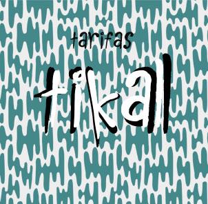 Tarifas Tikal