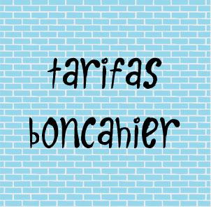 Tarifas Boncahier