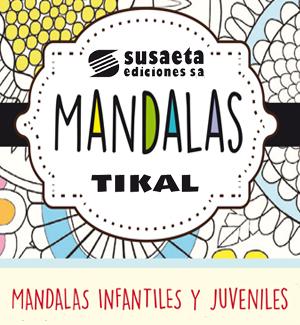 Folleto de Mandalas, Susaeta y Tikal.